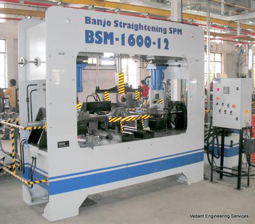 Hydraulic Straightening Machine Nashik